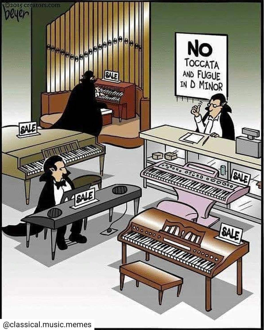I love that piece! • musician music organ bach band
