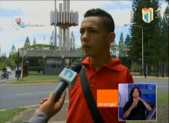 Santiago: Joven Que Nació Sin Brazos Inicia Hoy La Universidad #Video