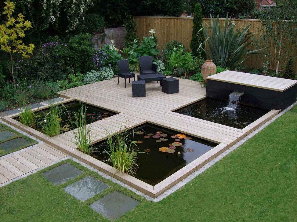 Modern Fish Pond Ideas Pool Design Ideas Garden Pond Design Fountains Backyard Outdoor Patio Designs