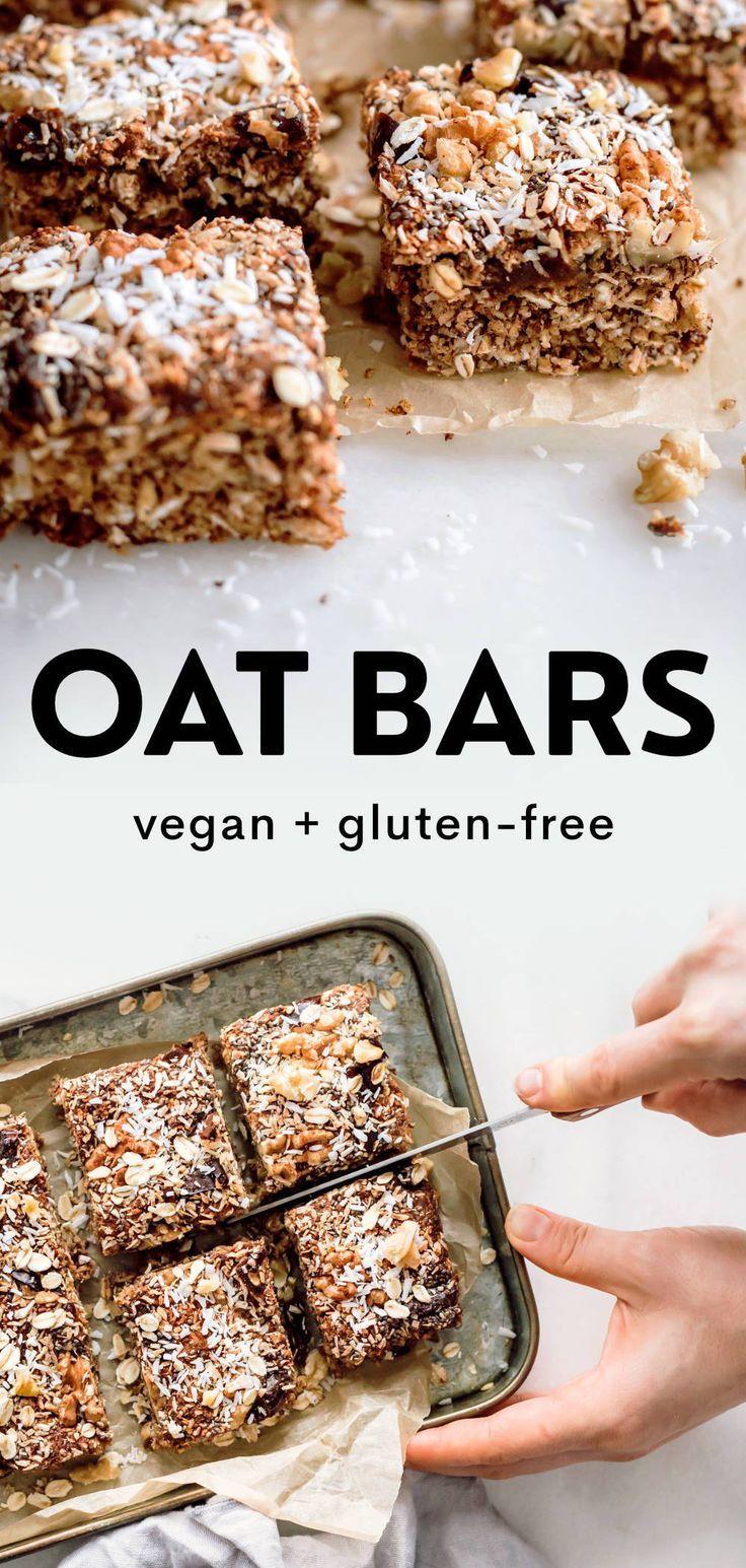 Healthy Vegan Oat Bar Recipe (Gluten-Free) – Carey&CleanEatingS
