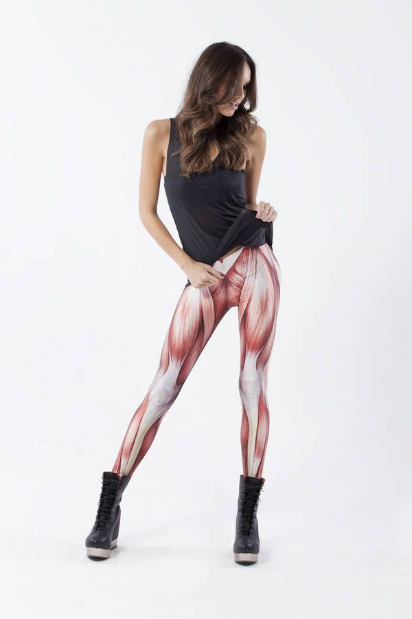 These Leggings Would Be A Great Way To Freak Someone Out And There