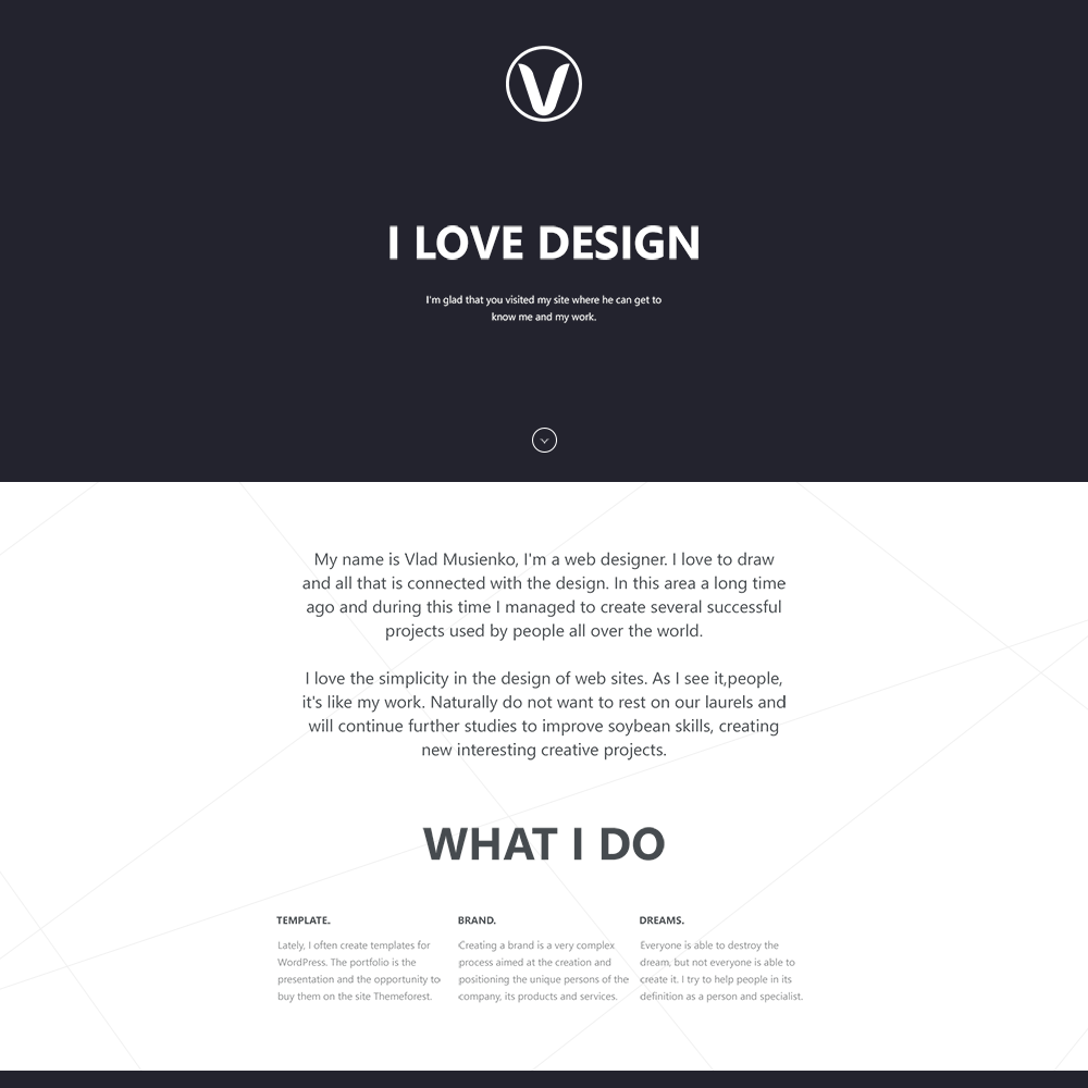 i love design this interesting psd template looks beautiful thanks