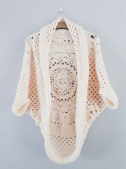 Ravelry: Crochetbystef\'s Sophies universe cocoon cardigan | Crochet ...