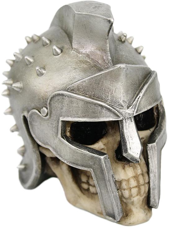 Spartan Warrior Skull By Pacific Trading Skull Statue Skull Figurine Display