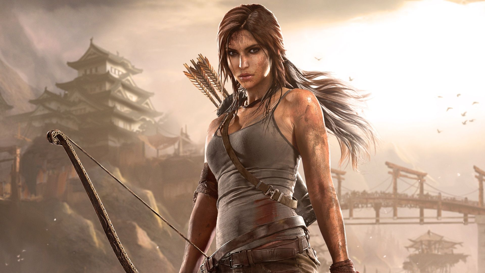 backgrounds one Sexy tomb raider xbox
