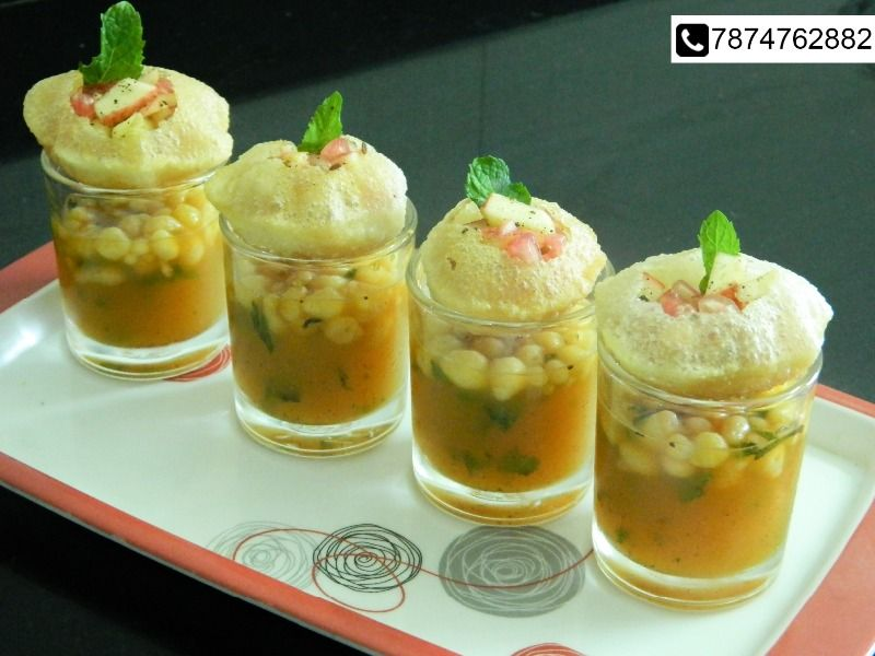 pani puri is a famous indian street food and i have a given a little healthy twist to the old and typical version of pani puri stuffed with fruits and