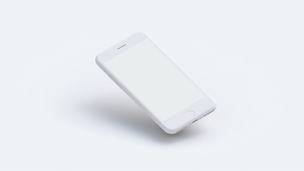 Download Free White Clay Iphone Mockup 1 Iphone Mockup Iphone Mockup Free Iphone