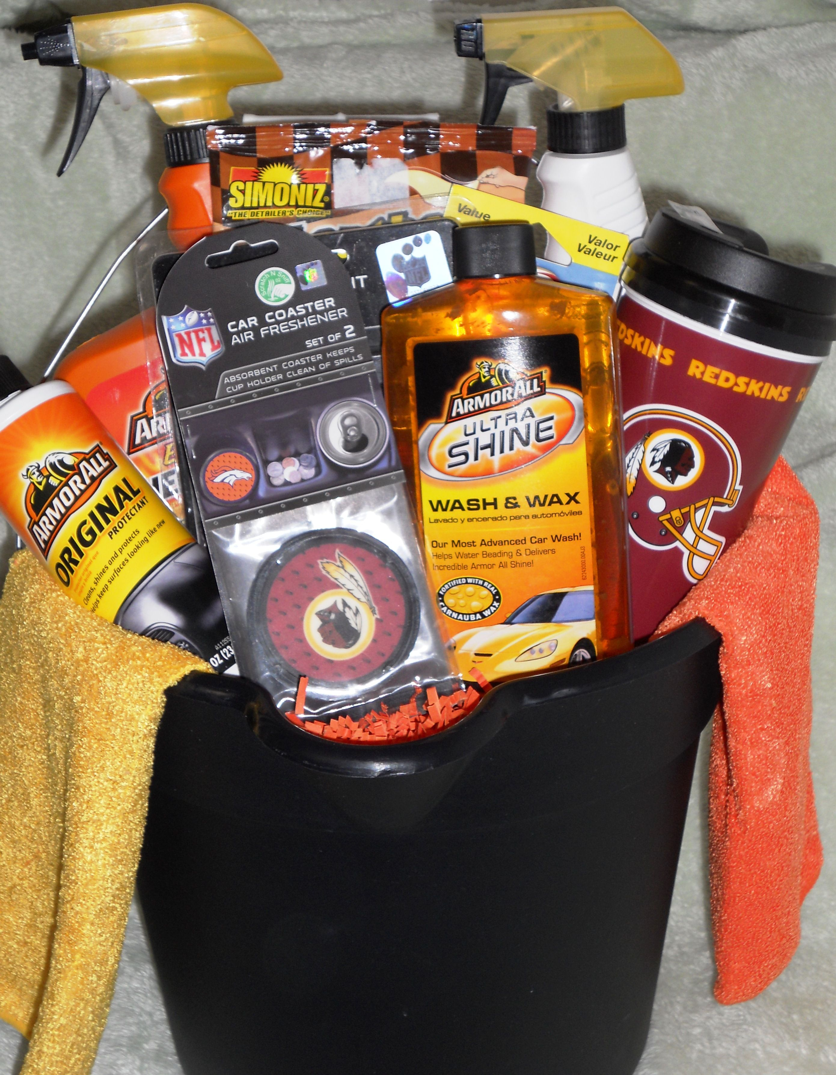 Father s Day Car Care bucket Gift ed Pinterest