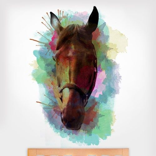 spiritual quotes with horse images | product details made in the usa add flair or a splash of color to any ...