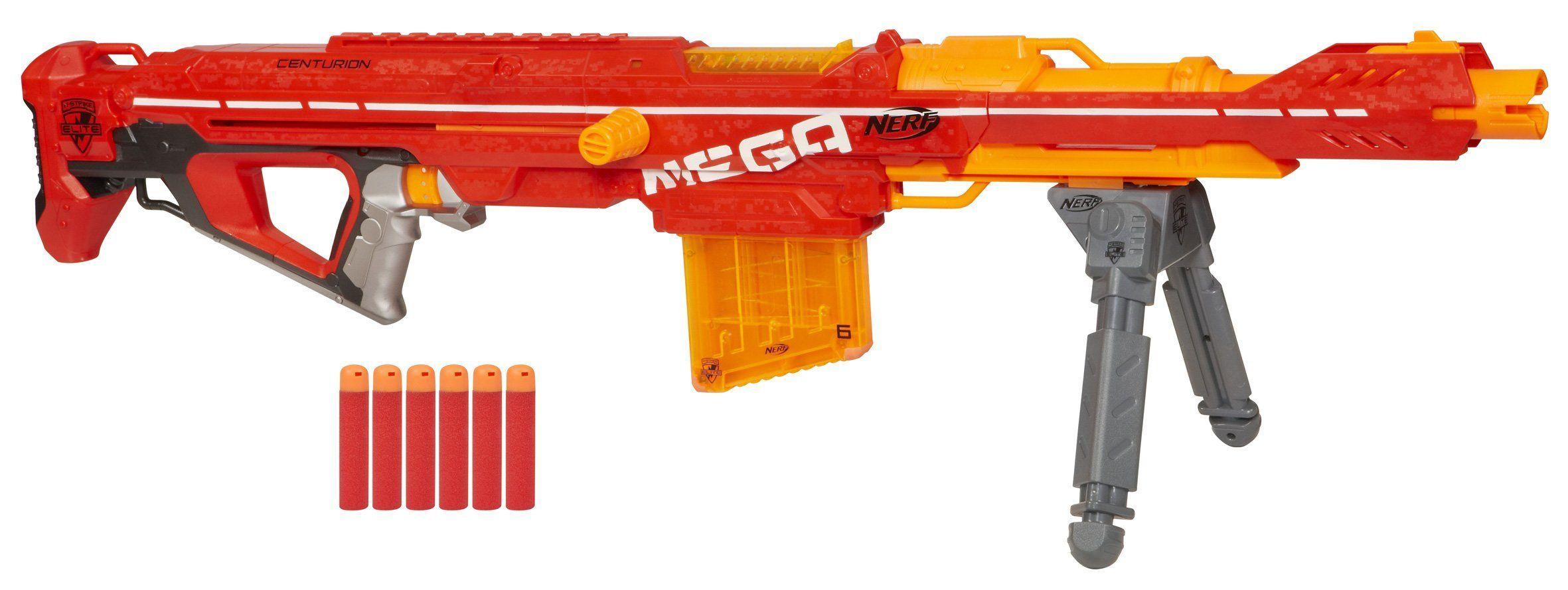 NERF N Strike Mega Centurion Blaster · NerfSportsGunsOutdoor
