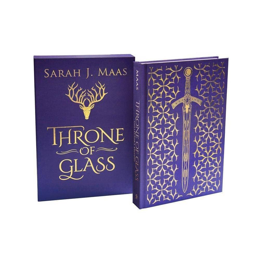 Throne Of Glass Collectors Throne Of Glass By Sarah J Maas Hardcover In 2020 Throne Of Glass Sarah J Hardcover