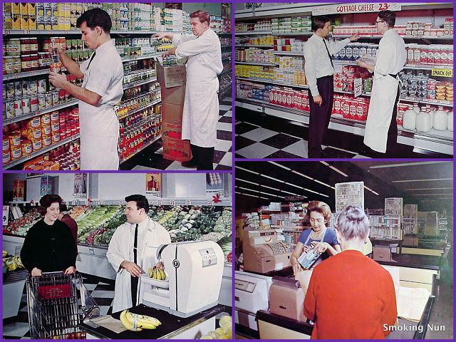 Pin On Mid Century Grocery Stores Supermarkets