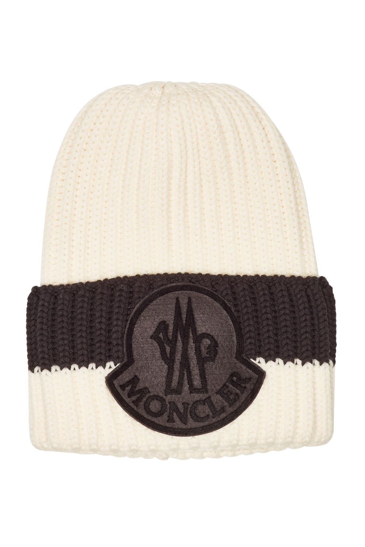 db18f13246 MONCLER VIRGIN WOOL HAT. #moncler | Moncler in 2019 | Hats, Knitted ...