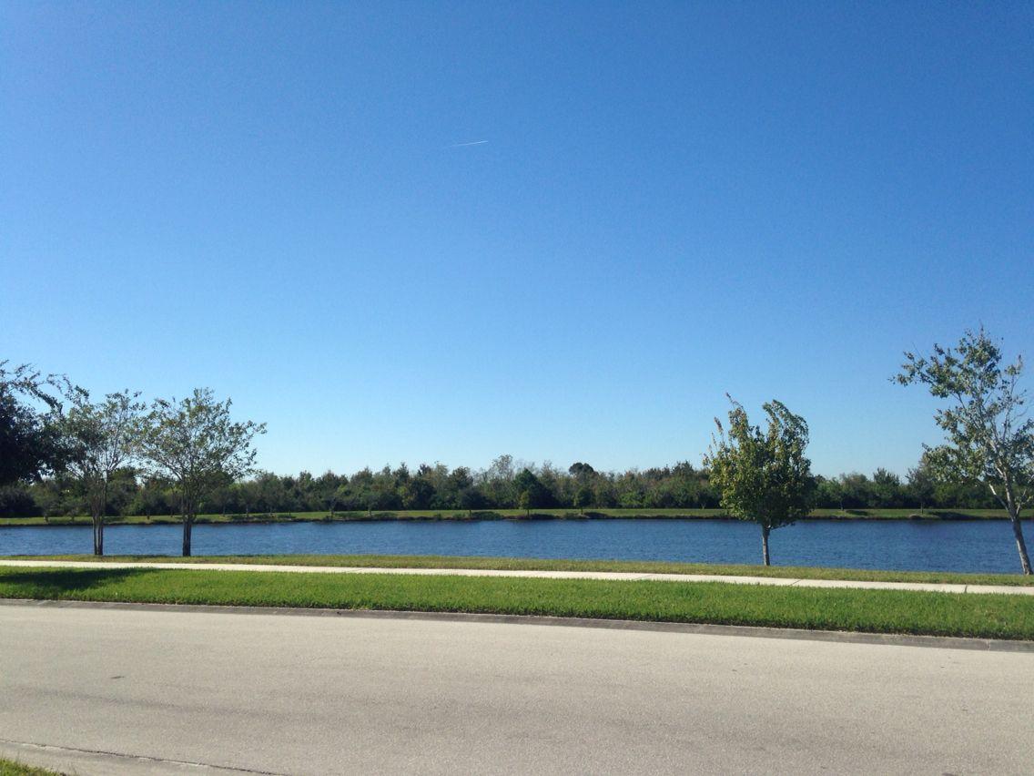 The lake!