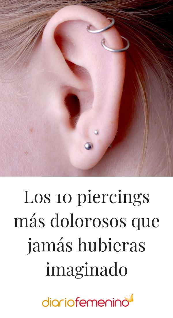 Los 10 Piercings Mas Dolorosos Que Jamas Hubieras Imaginado Piercings Piercings En El Ombligo Piercing