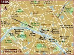 brown map of Paris My world of books Pinterest