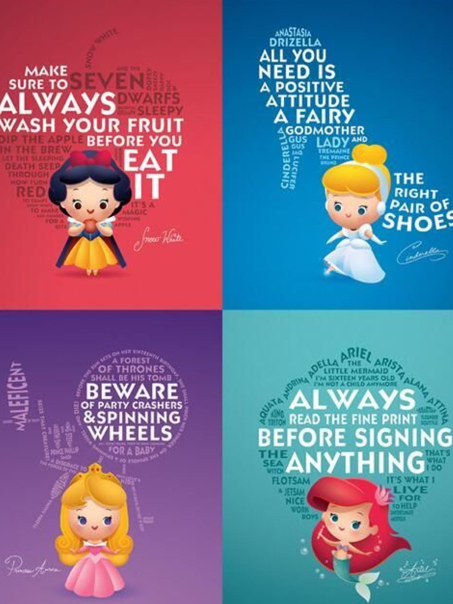 wise words from baby princesses