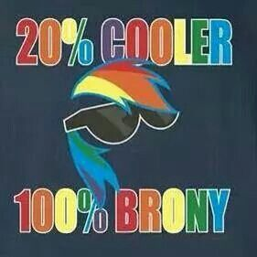 100% brony 20% cooler