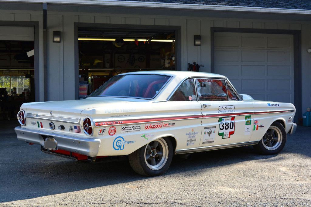1965 Ford Falcon Sprint Race Car With Images Ford Falcon Race