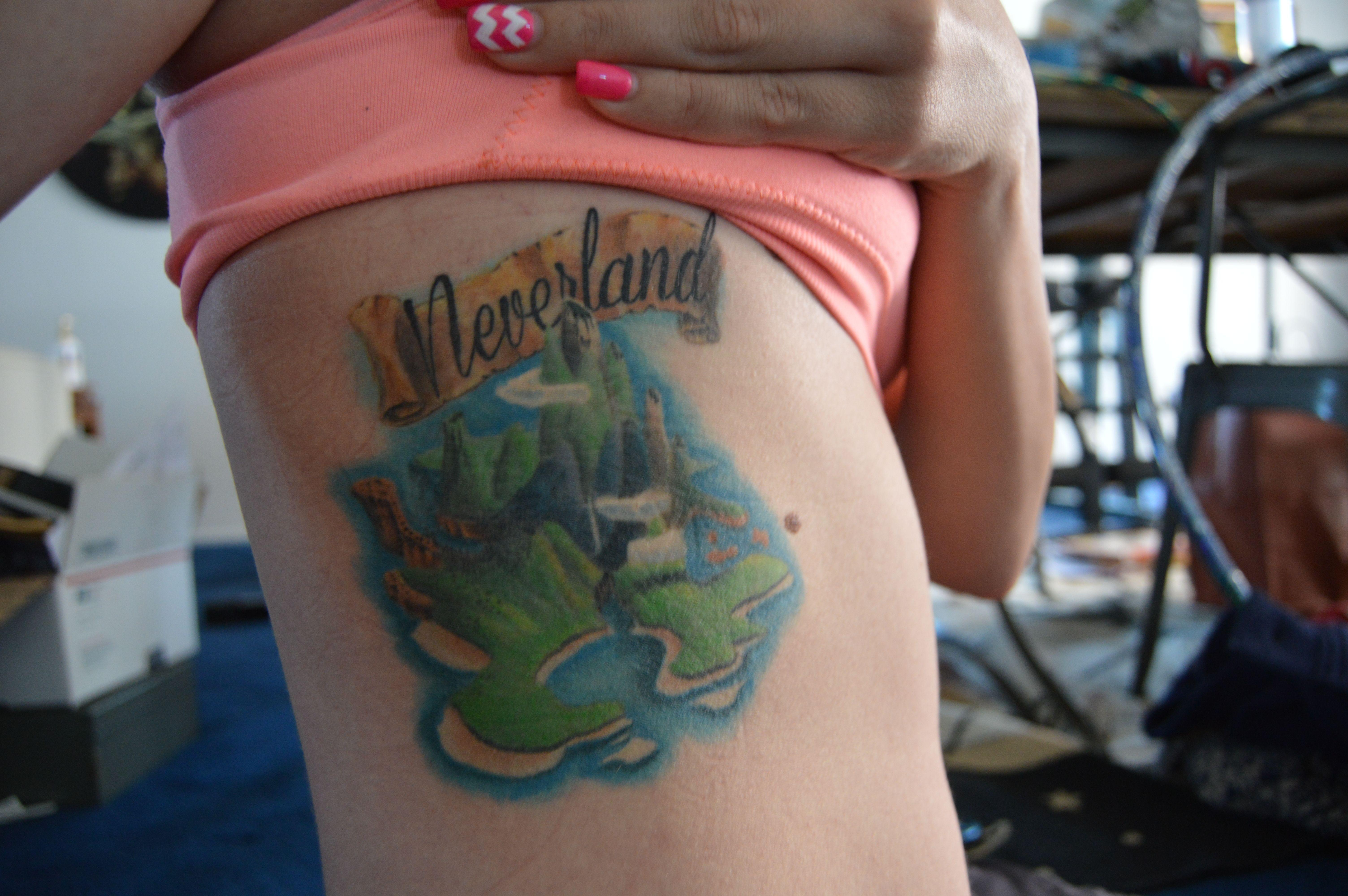Henna Tattoo Zagreb : My neverland tattoo done by ben stanton at club las vegas
