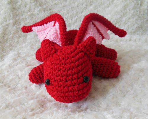 Crochet Dragon (Crochet For Free) | Crochet dragon pattern ... | 403x500