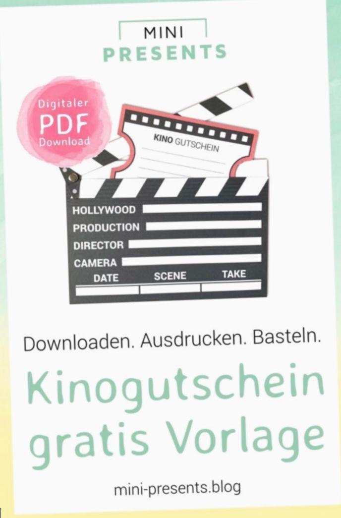 17+ Diy Geschenke Geburtstag Gutschein #kinogutscheinbasteln