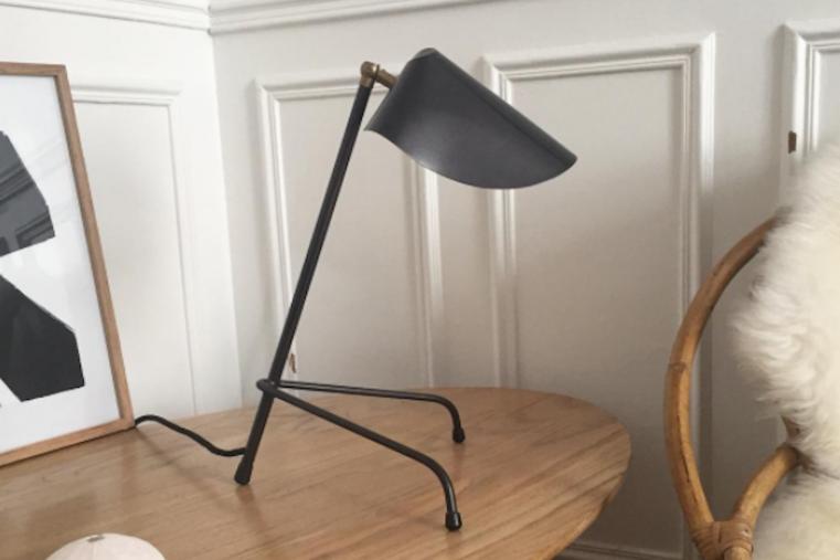Lampe  poser métal laiton