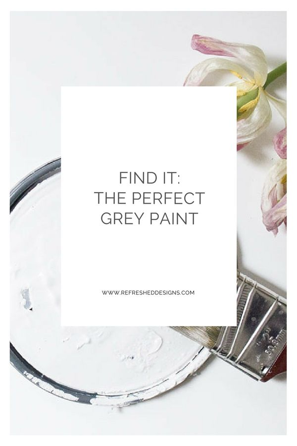 Find It: The Perfect Grey Paint that will Outlast the Trend #bluegreykitchens