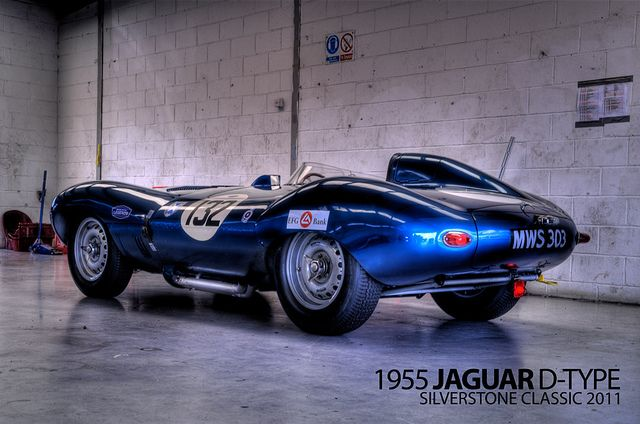 Jaguar D-Type by _DaveAdams, via Flickr