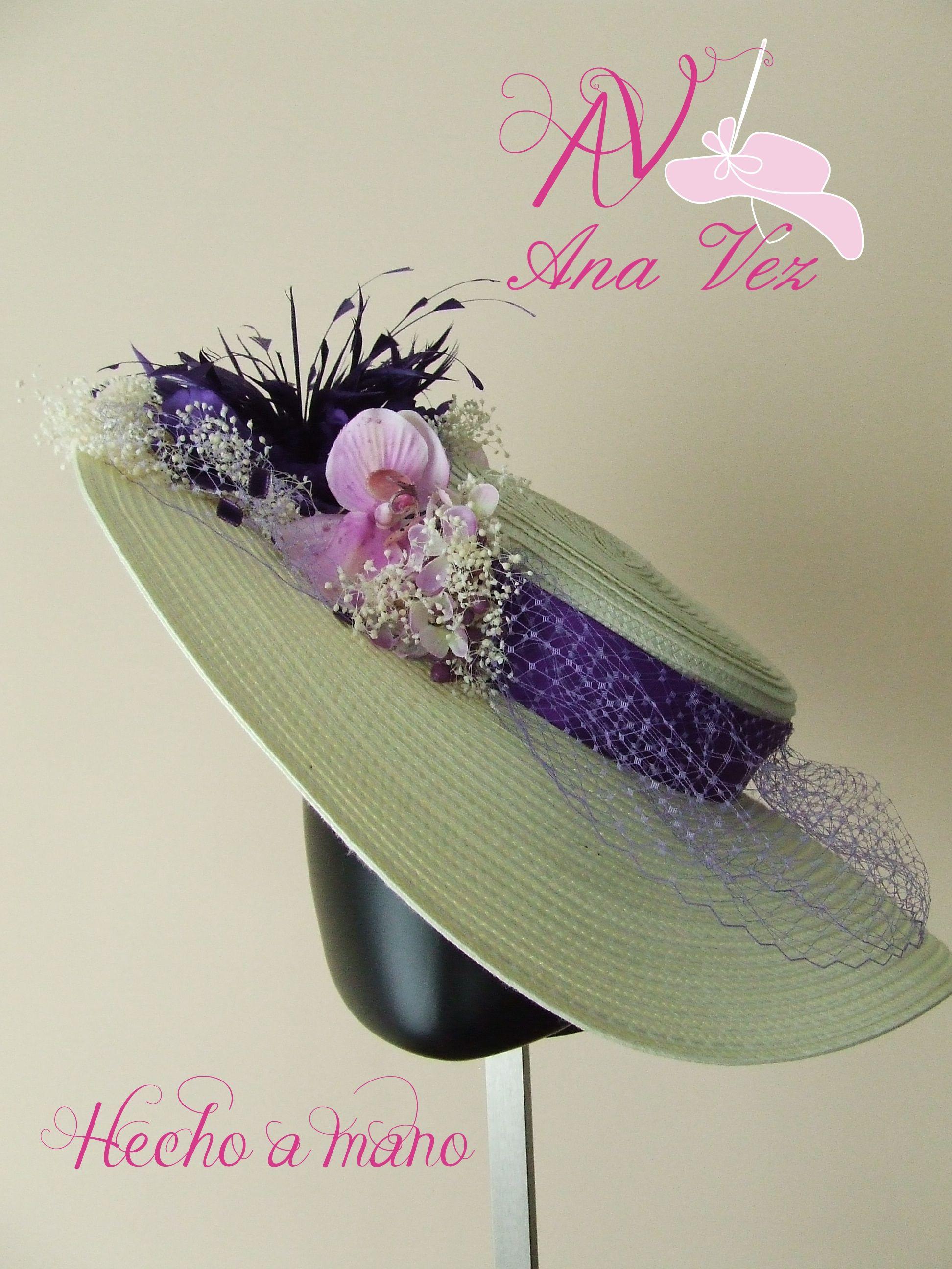 Tocados Ana Vez Atelier de Tocados, Sombreros y Complementos Artesanales. Si lo soñaste se puede realizar. Pide presupuesto en el telf. 698182256.