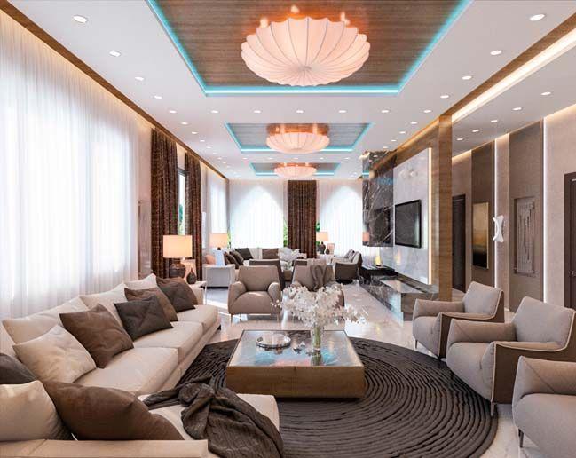 Luxury Interior Design Ideas Living Room For A Big Family Sala De Luxo Luxo Salas