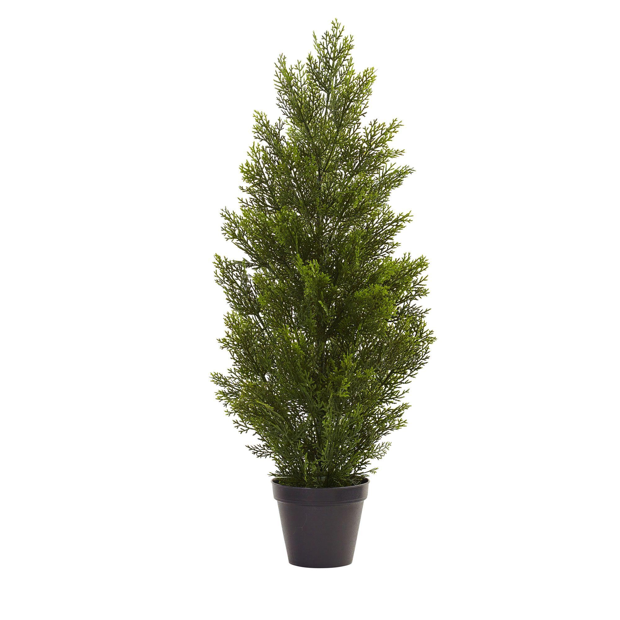 U mini cedar pine tree indooroutdoor nearly natural for a
