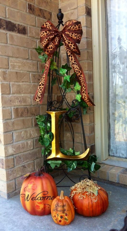 Fall Porch Decorations Simple Cute