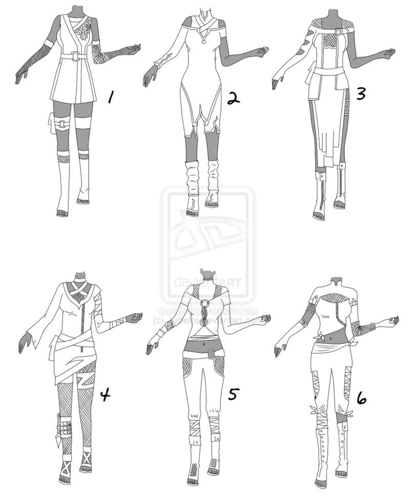 ninja manga how to draw