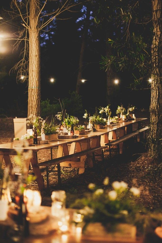 Rustic wedding decoration ideas | A Magical Forest Wedding ...