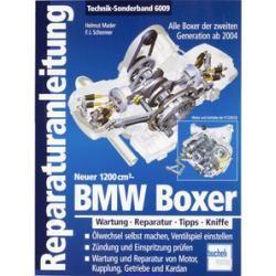 Photo of Bucheli repair manual The new BMW Boxer, Technik-Sonderband 6009, 192 S.Louis.de