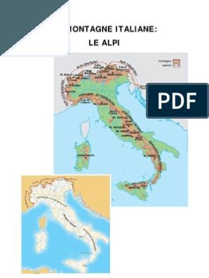 Cartina Dellitalia Montuosa.Imparare A Scrivere Bene In Corsivo Montagna Geografia Bambini Geografia