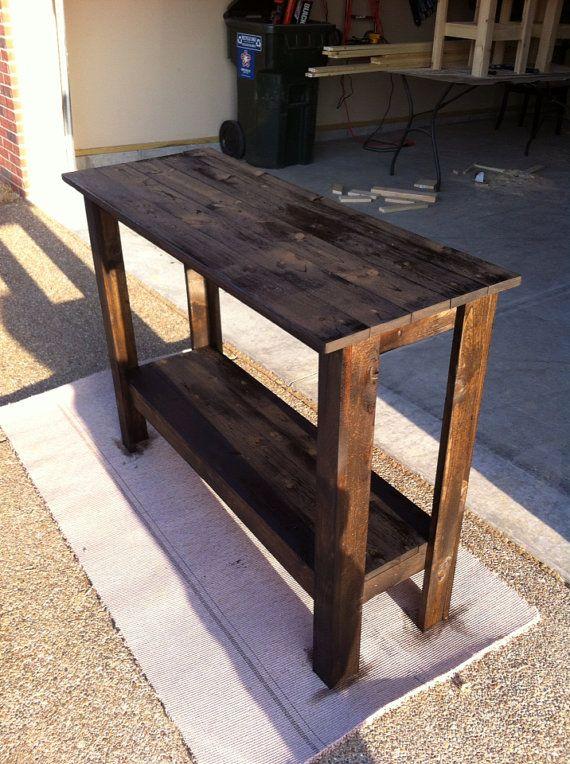 Elegant Wooden Hallway Tables