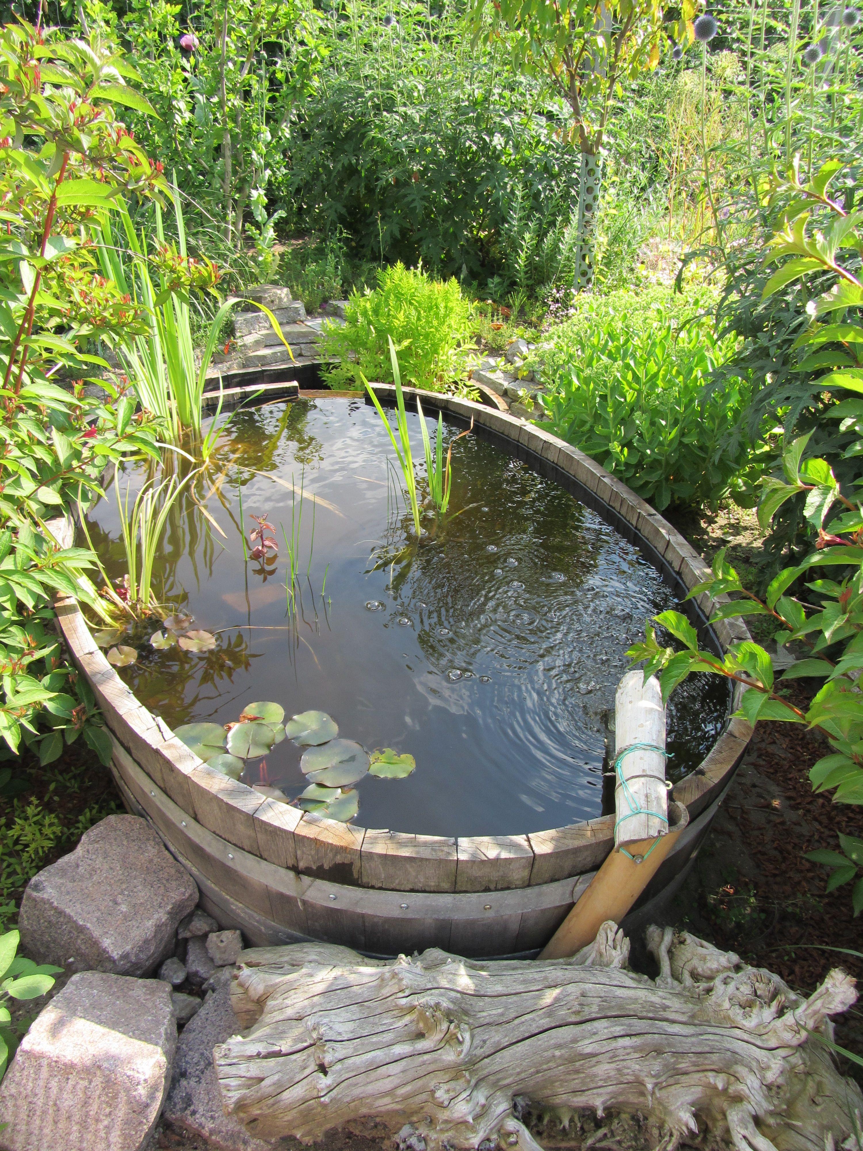 Wasser Im Garten Backyard Pondsgarden