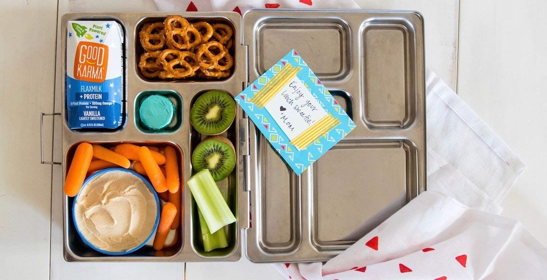 Good Karma Flaxmilk Vanilla 6.75 oz. Lunchbox Cartons