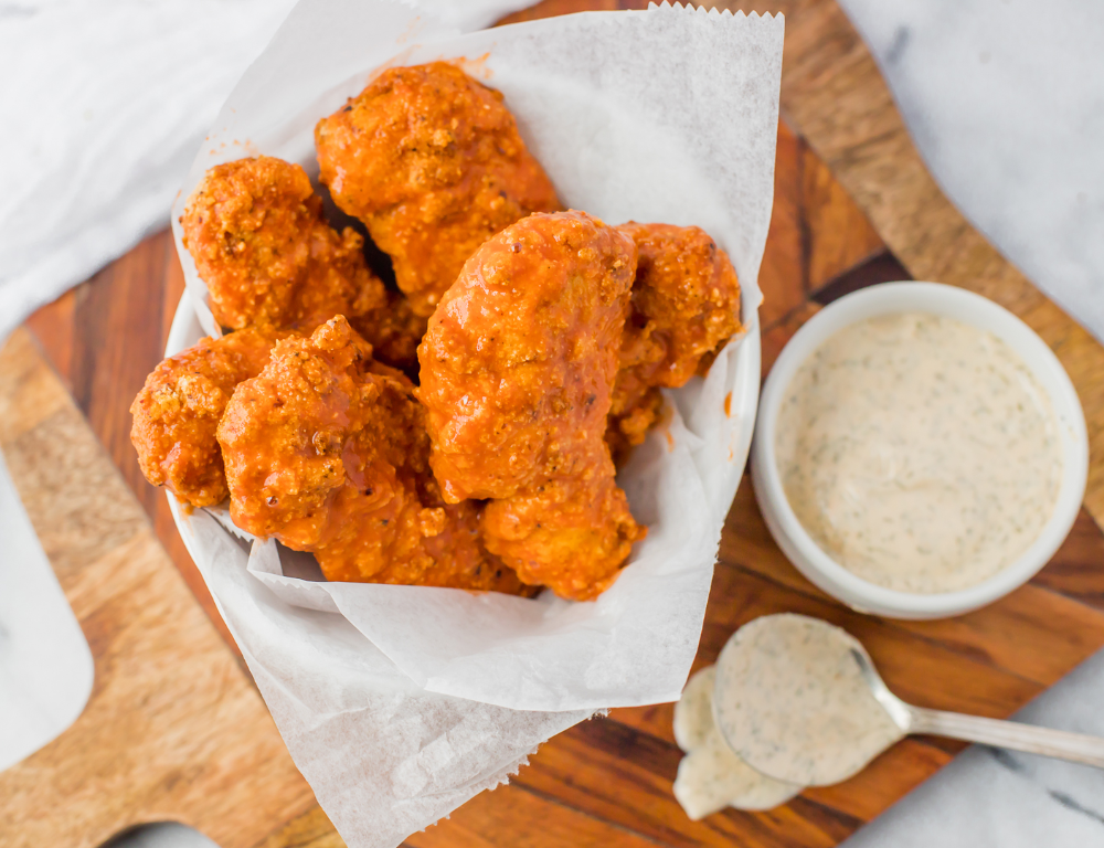 Crispy Buffalo Chicken Tenders #togetherwithfriends