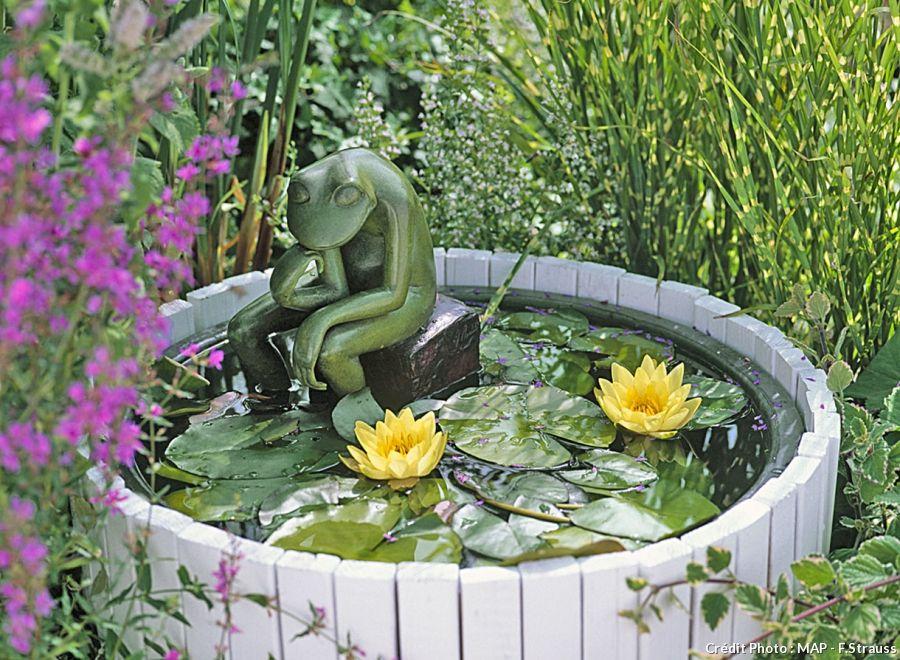 bassin de jardin mode d'emploi