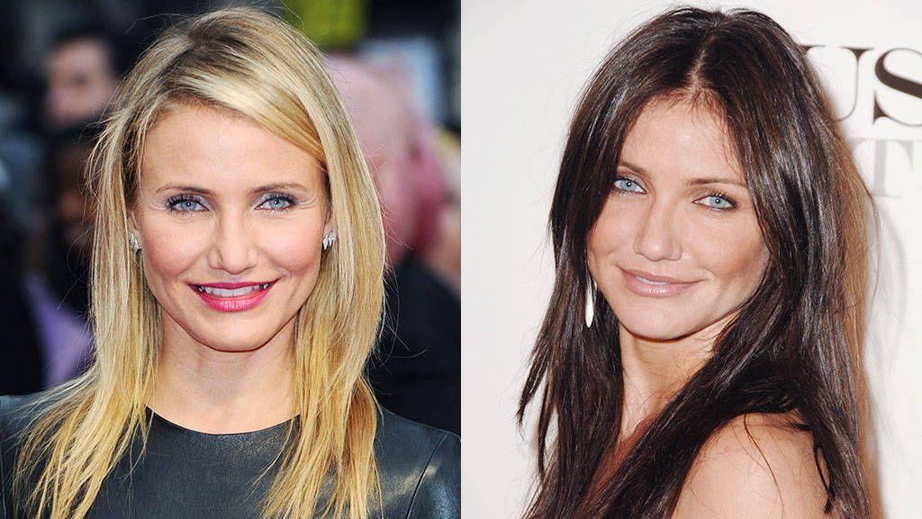 Celeb Hair Poll Blonde Or Brunette Blonde Vs Brunette Brunette To Blonde Brown Hair Vs Blonde