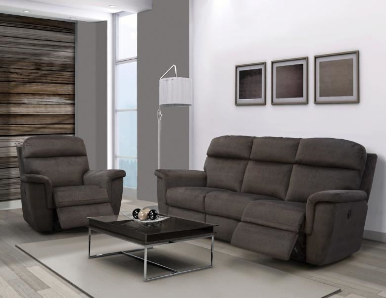 Elegant Bailey Leather Reclining Sofa Set Leather Furniture Expo Modern - Style Of power reclining sofa For Your Plan