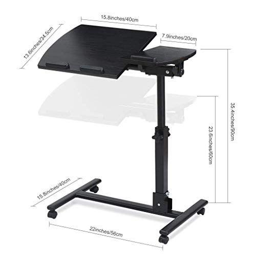 Best Vfdg Lazy Bedside Laptop Desk Desk Bed Desk Folding Mobile 400 x 300