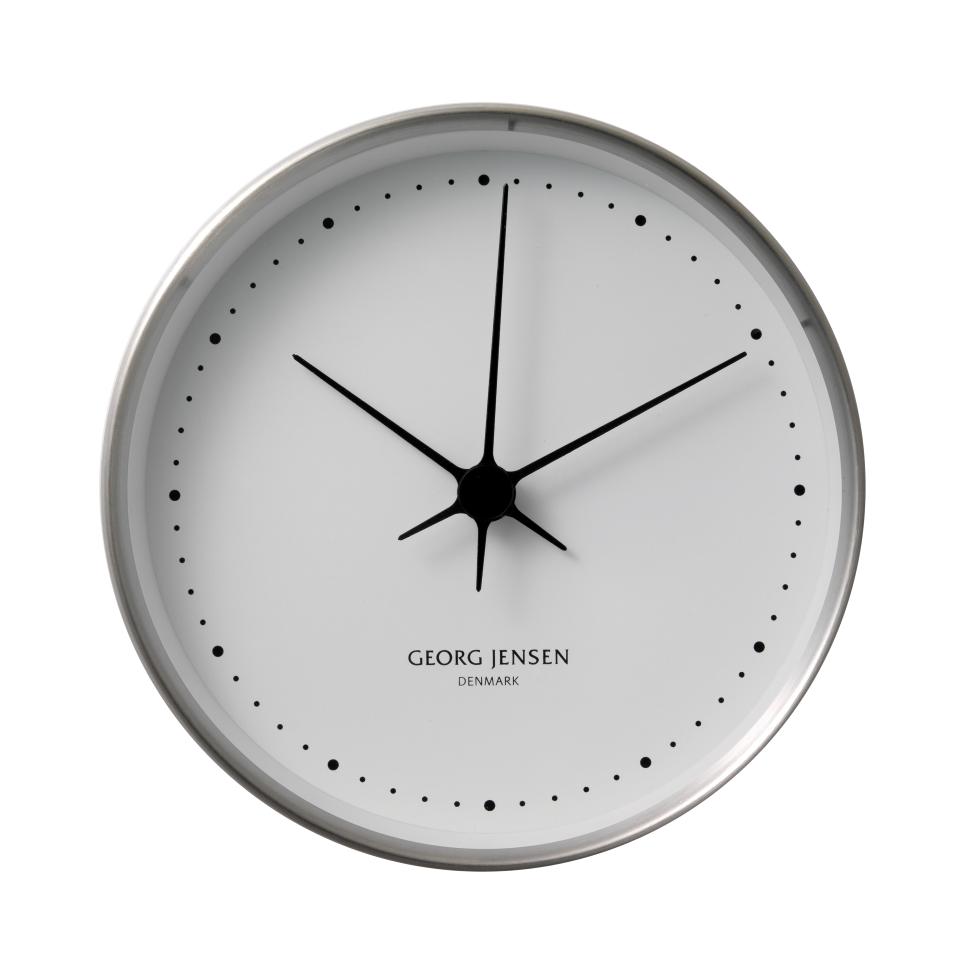 Koppel Wall Clock White Stainless Steel O 22 Cm Wall Clock Clock Wall Clock Brands