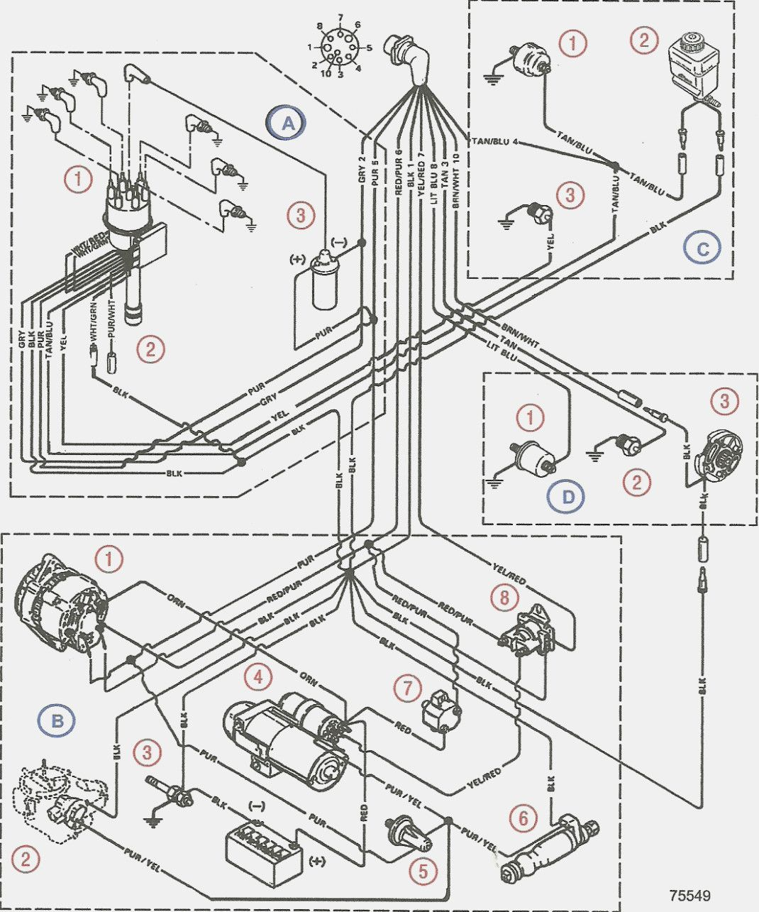 Volvo 142 Wiring Diagram