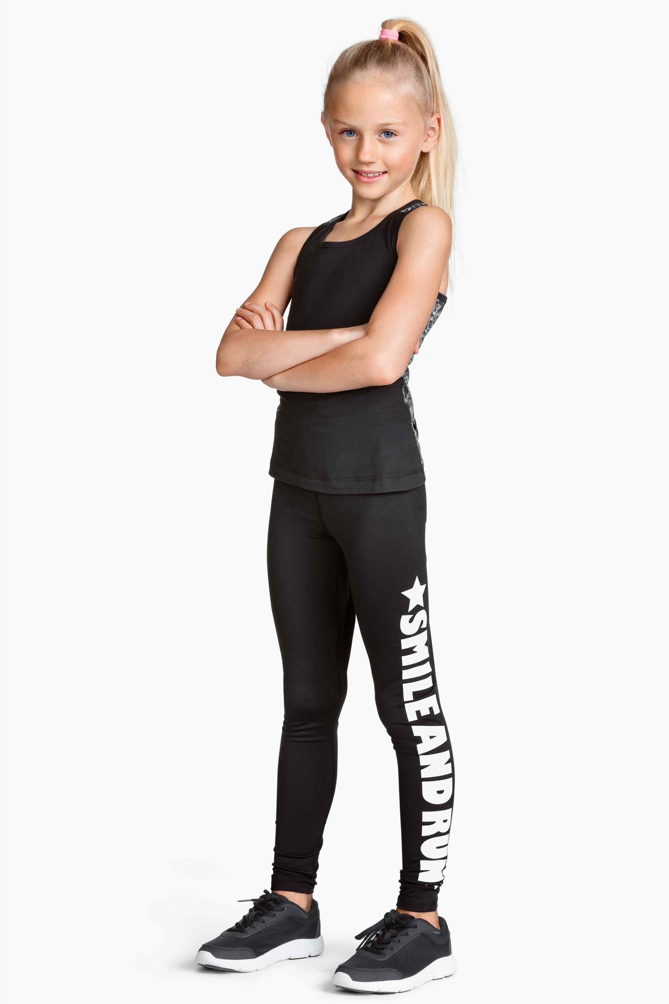 Leggings sportivi H&M outfits