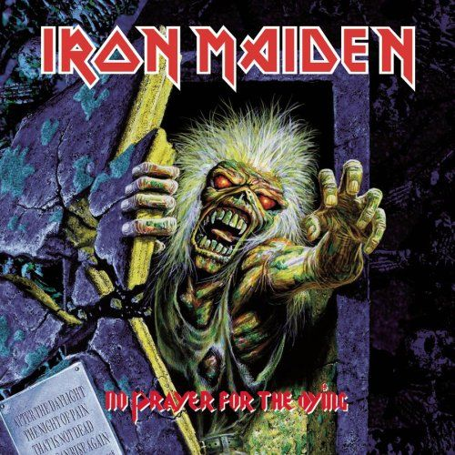 Portada Iron Maiden no prayer for the dying