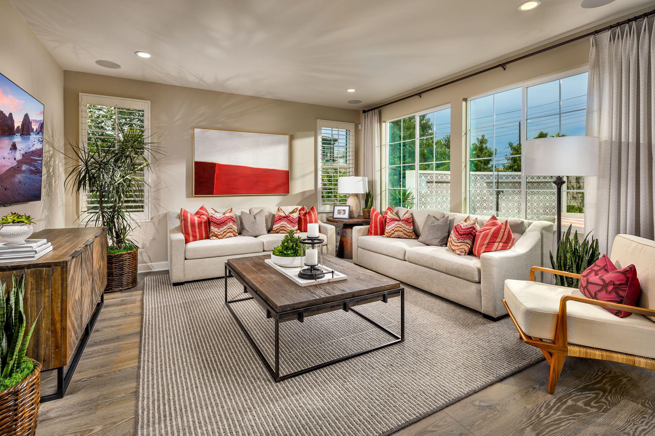 Gardenia in Garden Grove, CA by Shea Homes Plan 1 Living